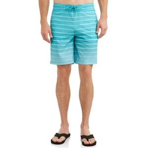 "Gradient Stripe E-Board 9"" Swim Short 3XL GEORGE"